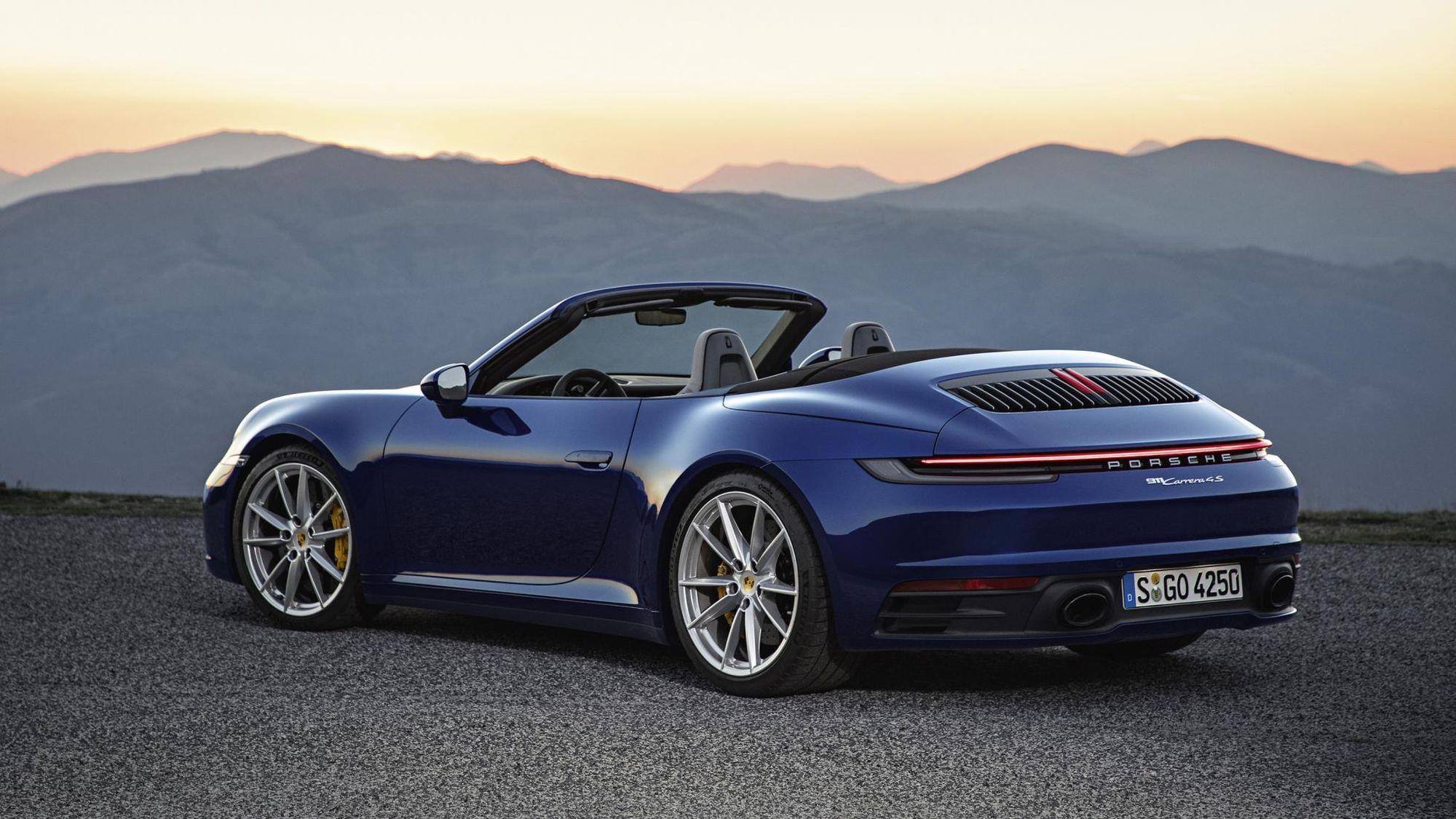 nouvelle porsche 911 le cabriolet arrive le mag auto prestige. Black Bedroom Furniture Sets. Home Design Ideas