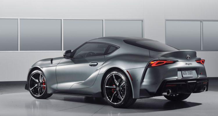 Toyota Supra : la nouvelle sportive vue de derrière