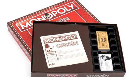 Citroën fête son centenaire avec un Monopoly !