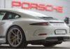 Des voitures autonomes dans les ateliers Porsche