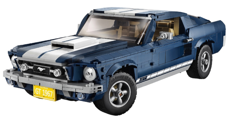 Lego propose une magnifique Ford Mustang 1967 !