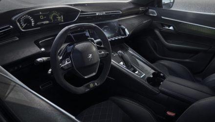 Peugeot 508 hybride une sportive sort ses griffes