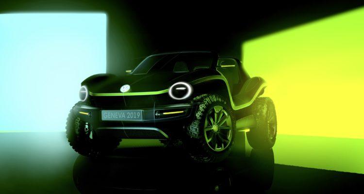 Un Buggy Volkswagen au Salon de Genève