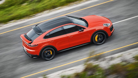 Le Porsche Cayenne arrive en version Coupé !
