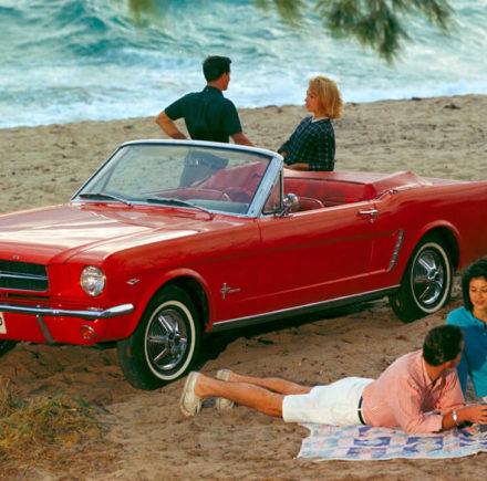 Joyeux Anniversaire à la Ford Mustang !