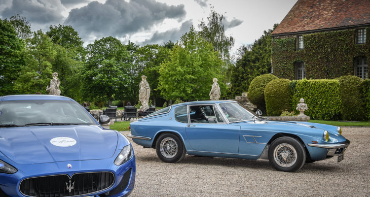 Maserati Famiglia Tridente concours d'élégance 2019