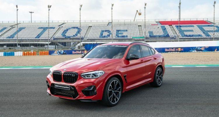 BMW X4 M sur le circuit de Jerez