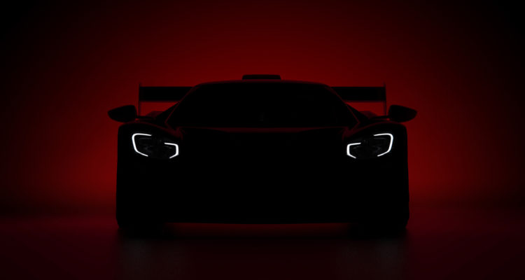 Ford GT Goodwood teaser