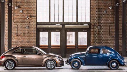 Volkswagen arrête la Coccinelle (Beetle) !