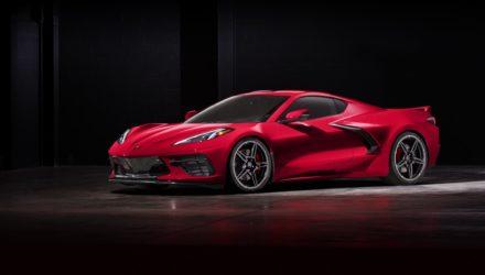 Nouvelle Stingray la 1ère Corvette à moteur central dévoilée