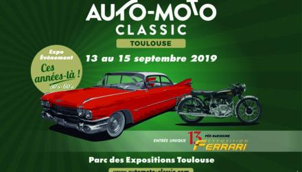 Toulouse : L'affiche du Salon Auto-Moto Classic 2019