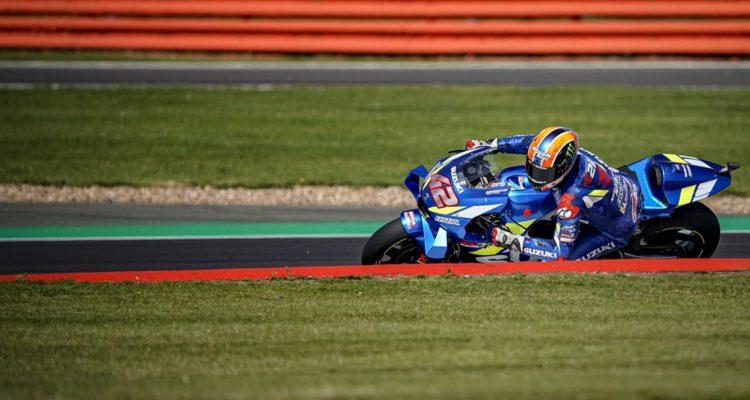 MotoGP Alex Rins sur sa Suzuki