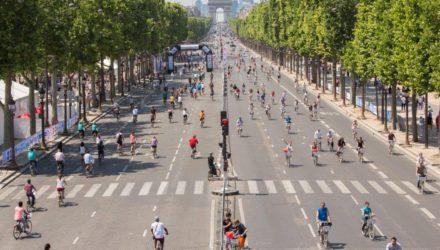 5e journée sans voiture à Paris c'est aujourd'hui !
