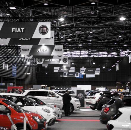 Salon Automobile de Lyon (crédits photo - Twitter Salon Auto Lyon)