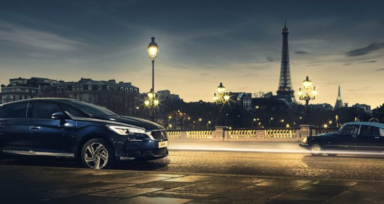 Citroën, la berline DS9 surprise sur un tournage !