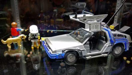 La DeLorean de Retour vers le Futur bientôt chez Playmobil !