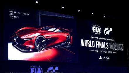 La Mazda RX-Vision GT3 Concept présentée à Monaco