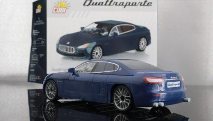Maserati Quattroporte par Cobi le luxe en petites briques