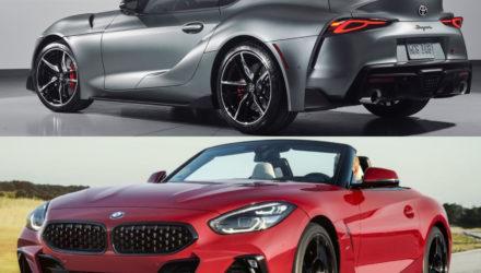 Plus BMW Supra que Toyota Supra !