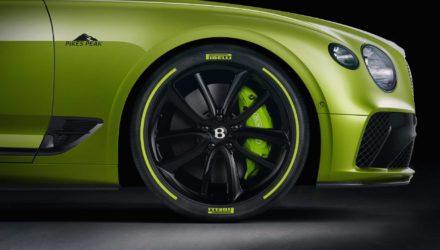 Bentley une série spéciale Pikes Peak pour la Continental GT !
