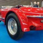 Vue arrière d'une Maserati Tipo 2000