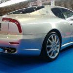 Vue arrière de la Maserati 4200 Spyder