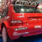 La Citroën Saxo de Sébastien Loeb