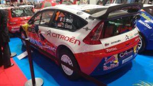 La C4 WRC de Sébastien Loeb à Epoqu'Auto 2019