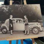 Une photo d'archive de la Traction et Jean Sablon