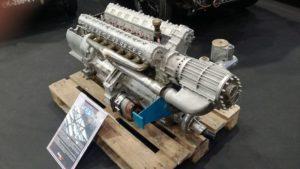 Un moteur de 155B