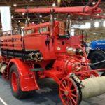 Un fourgon-pompe Berliet CBA de 1918 restauré