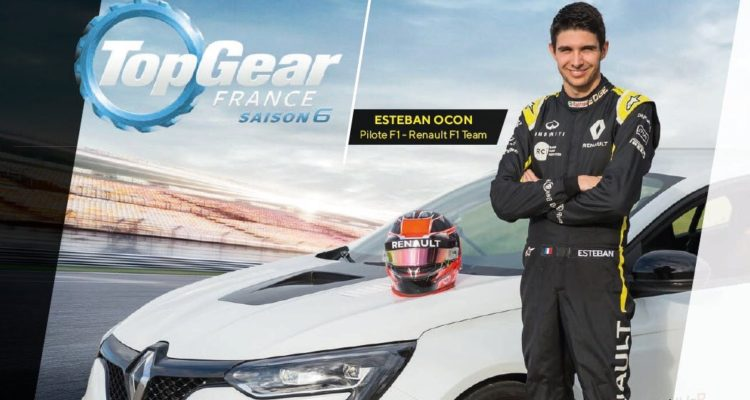 esteban ocon dans top gear france
