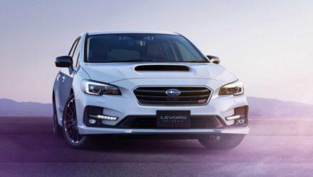 Le Subaru Levorg Sti Sport sera présenté au Salon de Tokyo !