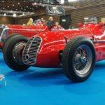 Les voitures de course du plateau Maserati (au premier plan, une 3500 GTI)