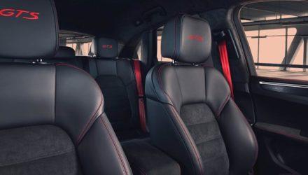 L'intérieur du Porsche Macan GTS