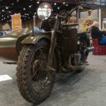 Sidecar de Type XA développé pour l'armée à Epoqu'Auto