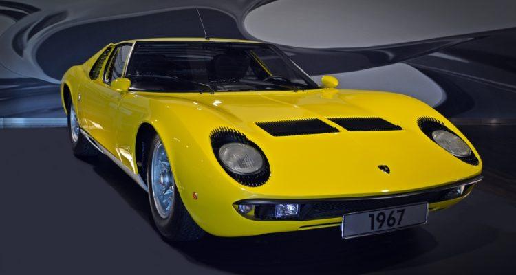Image d'illustration d'une Lamborghini Miura (crédit photo: bernswaelz / Pixabay)