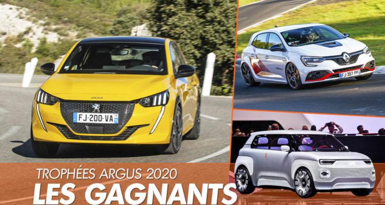 Argus: les vainqueurs des Trophées Argus 2020