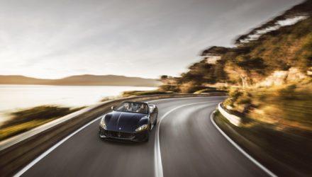 Une Maserati GranCabrio
