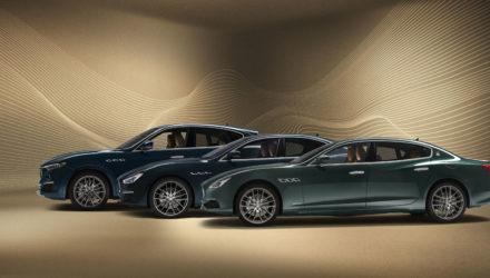 Les Maserati de la série Royale
