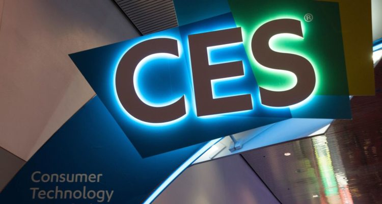 Logo du CES de Las Vegas, ou Sony a présenté sa Vision-S