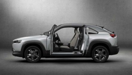 Salon de Bruxelles : Mazda dévoile son SUV Coupé électrique !
