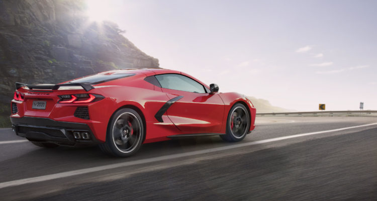 Skillter : une Chevrolet Corvette Stingray de 2020