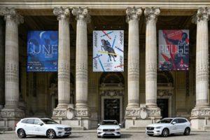 Trois Volvo au Saut Hermès au Grand Palais en 2019