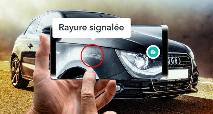 WeProov une I.A pour diagnostiquer l'état de vos voitures