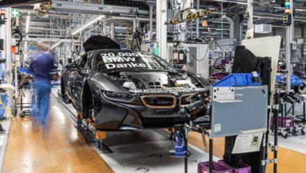 Clap de fin pour la BMW i8 !