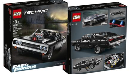 fast and furious x lego dodge charger