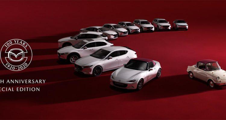 Mazda, des éditions spéciales pour le centenaire !