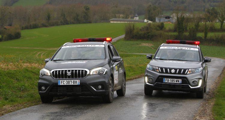 Suzuki partenaire du Championnat de France des Rallyes !