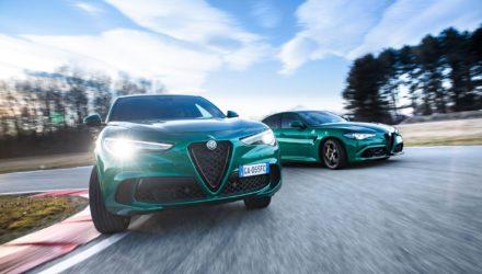 Alfa Romeo Giulia et Stelvio Quadrifoglio MY20 débarquent en concession !